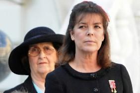 La princesse Caroline de Monaco (à droite), en... (Photo: AFP)