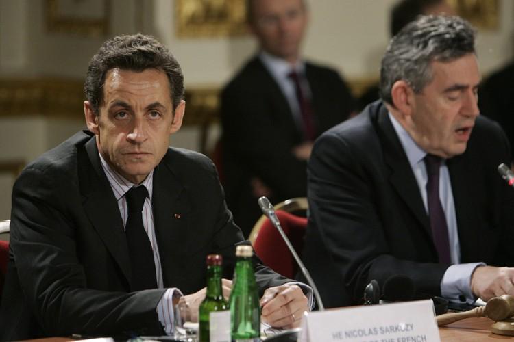 Le président français Nicolas Sarkozy et le premier... (Photo: Reuters)