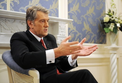 Viktor Iouchtechenko... (Photo: AFP)