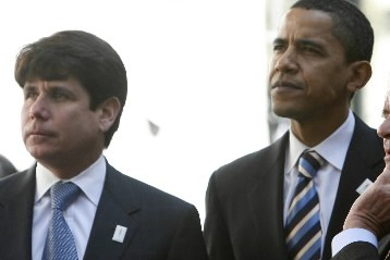 Rod Blagojevich et Barack Obama... (Photo: Reuters)