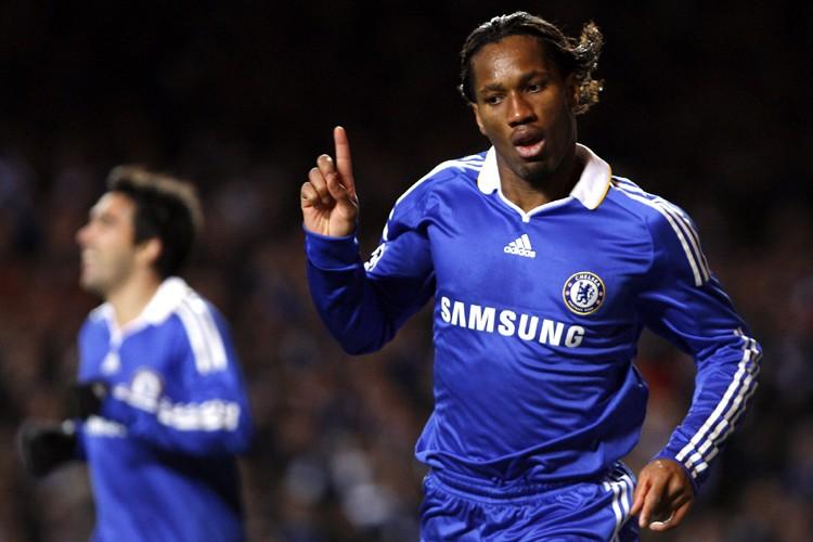 Didier Drogba a marqué dans la victoire de... (Photo: AFP)