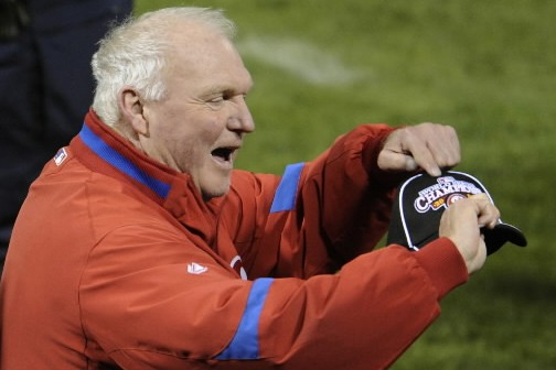 Charlie Manuel... (Photo: Reuters)