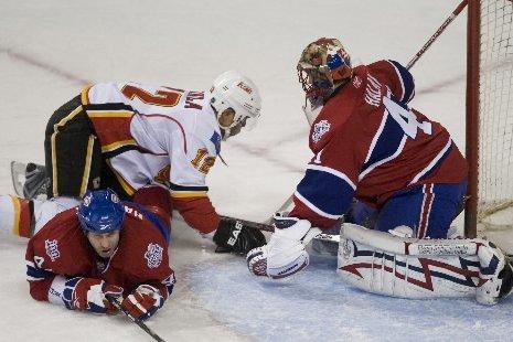 Le Canadien l'emporte, mais perd les... (Photo: André Pichette, La Presse)