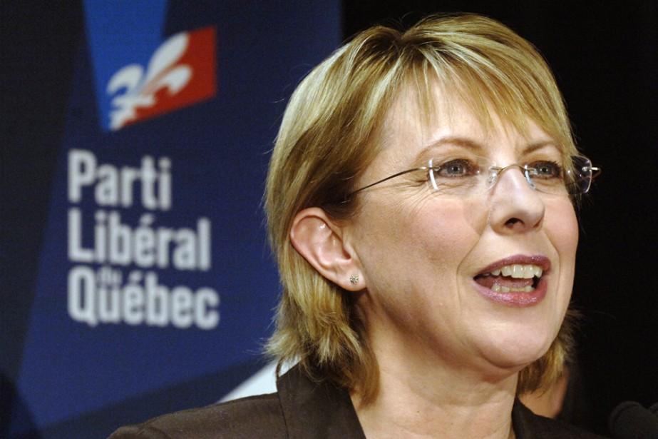 Christine St-Pierre, ministre sortante de la Culture.... (Photo: Rémi Lemée, La Presse)