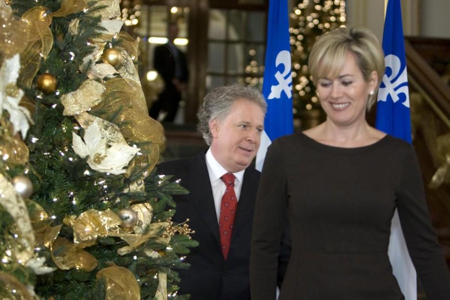 Le premier ministre Jean Charest s'est présenté hier... (Photo: Alain Roberge, La Presse)