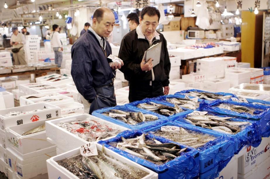 L'accès au marché de Tsukiji sera interdit aux... (Photo: AFP)