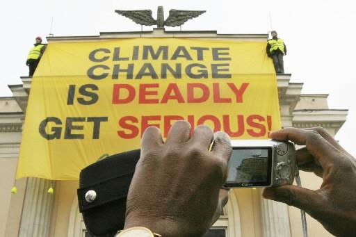 La conférence de Poznan sur le climat n'a plus que deux jours pour... (Photo: AP)