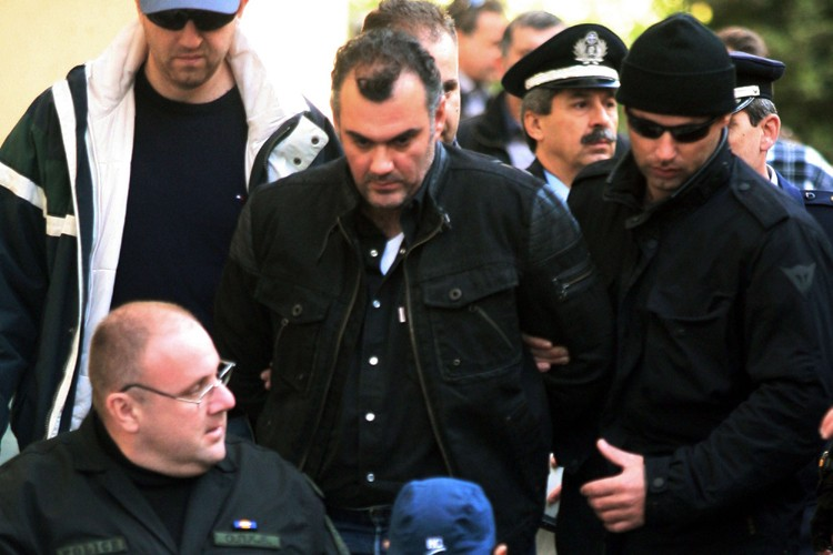 Le policier Epaminondas Korkonéas a été inculpé d'«homicide... (Photo: AP)