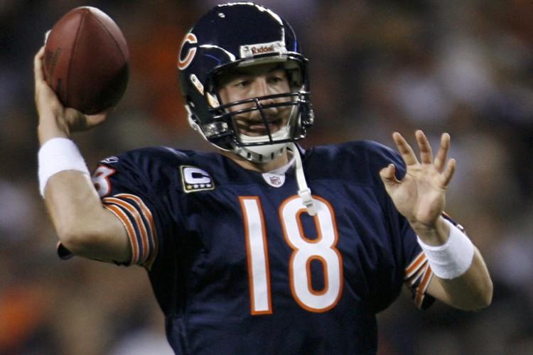 Le quart-arrière des Bears, Kyle Orton... (Photo: Reuters)