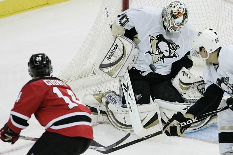 Les Devils du New Jersey ont poursuivi sur leur lancée en... (Photo: AP)