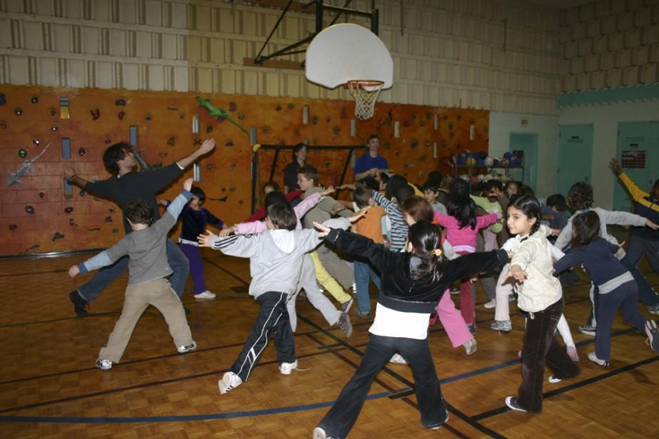 Des élèves de première année à l'école Alphonse-Pesant... (Photo: GBCM)