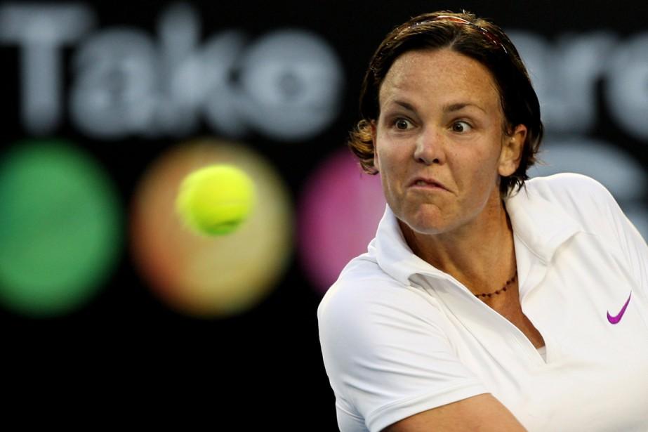 Lindsay Davenport... (Photo: AFP)