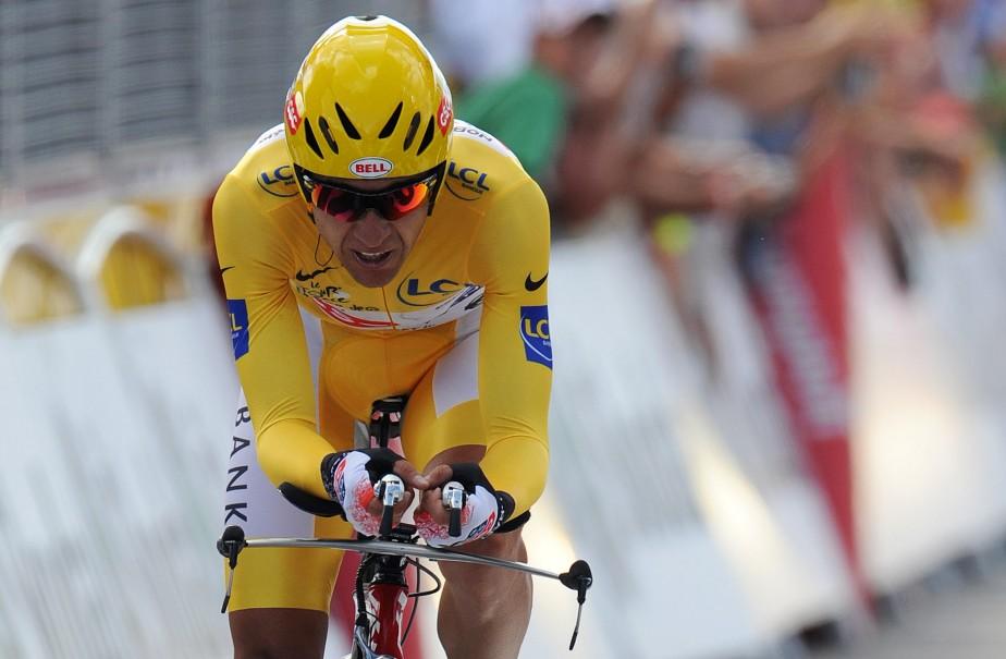 Carlos Sastre... (Photo: AP)