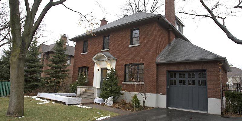 La maison originale faisait 25 pieds sur 40.... (Photo Alain Roberge, La Presse)