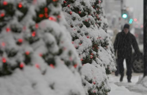 Après avoir reçu 25 cm en début de semaine, la région... (Photo: La Presse)