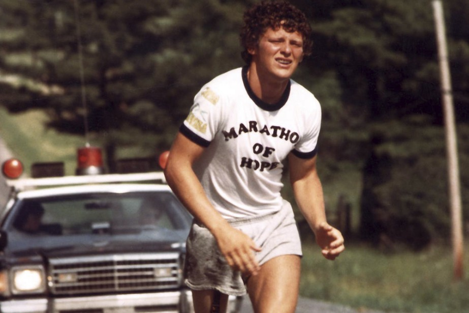 Terry Fox... (Photo: archives PC)