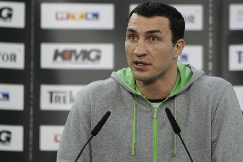 Vladimir Klitschko... (Photo: Reuters)