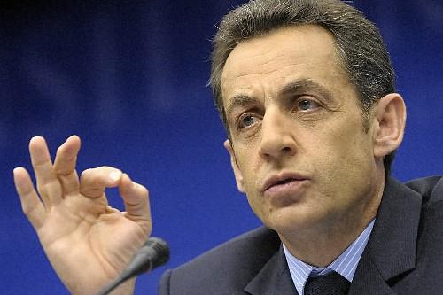 Nicolas Sarkozy... (Photo: Bloomberg News)