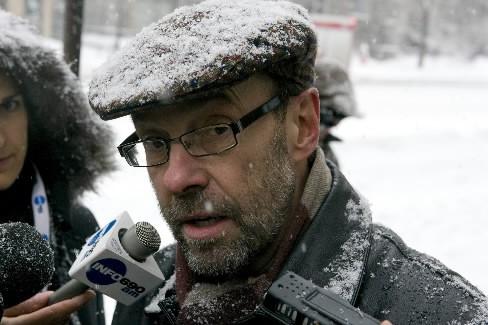 Le directeur des communications de l'UQAM, Daniel Hébert.... (Photo: André Tremblay, La Presse)