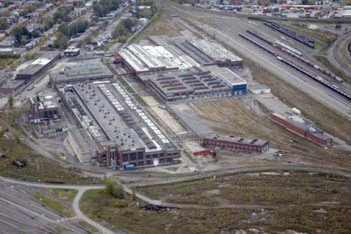L'aménagement des immenses anciens terrains du CN, au...