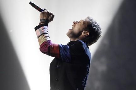 Le chanteur de Coldplay, Chris Martin... (Photo: AP)