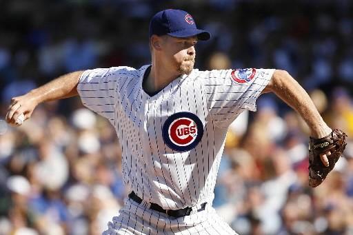 Kerry Wood dans l'uniforme des Cubs.... (Photo: AP)