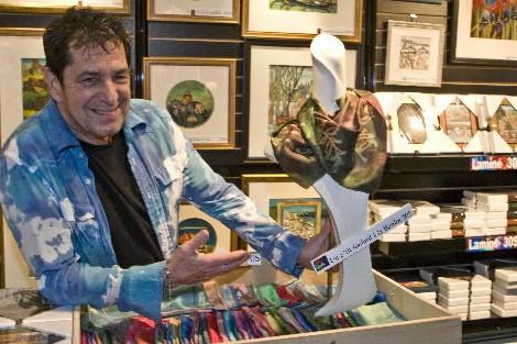 Jean-Louis Mireault, vice-président du Conseil des métiers d'art... (Photo: Rémi Lemée, La Presse)