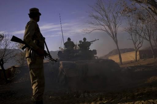 Trente-cinq talibans ont été tués depuis jeudi au cours d'une... (Photo: AP)