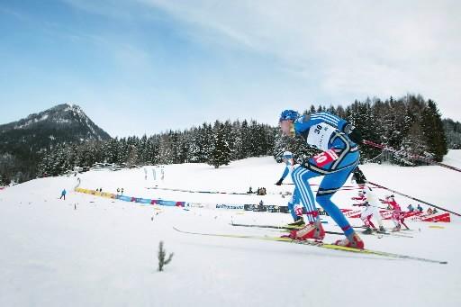 Le Norvégien Ola Vigen Hattestad et la Slovène Petra Majdic, déjà... (Photo: AP)