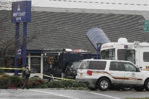 Deux policiers ont été tués et un troisième a été grièvement... (Photo: AP)