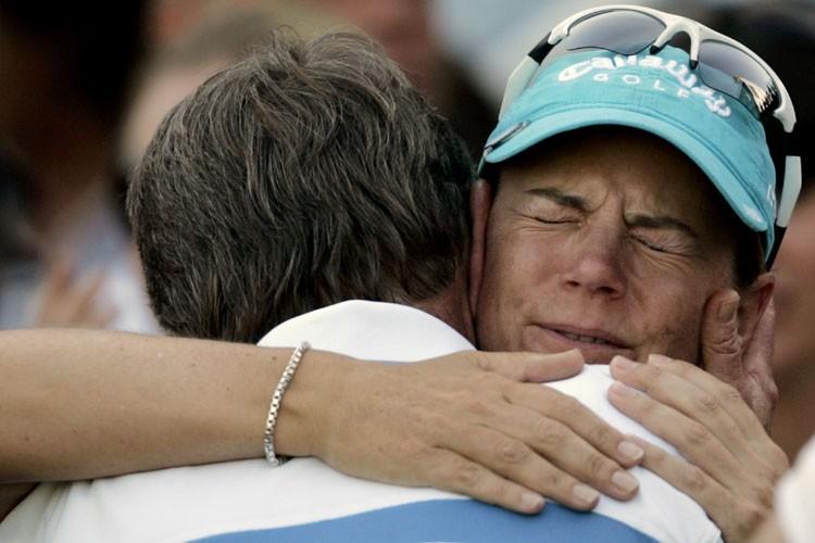 Annika Sorenstam a mis fin à sa carrière avec un oiselet d'une... (Photo: AP)