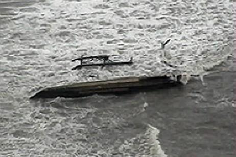 Le ferry naufragé... (Photo: AFP)