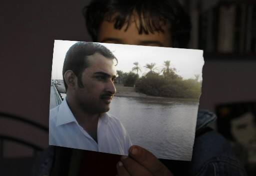 Un photo de Mountazer al-Zaïdi, 29 ans... (Photo: AFP)