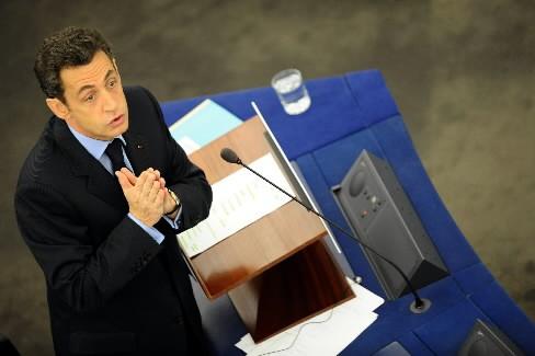 Nicolas Sarkozy... (Photo: AFP)