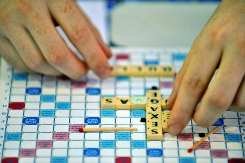 Le jeu Scrabble de Hasbro... (AFP)