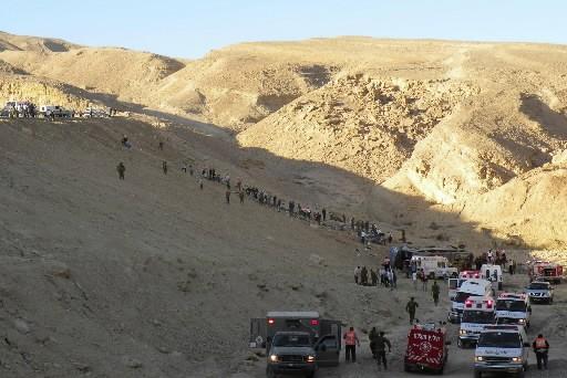 Vingt-quatre personnes ont été tuées et 33 blessées dans... (Photo: Reuters)