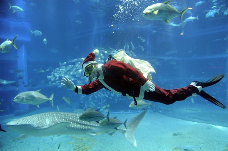 L'équipe de Technaute vous souhaite un Joyeux Noël... (AFP)