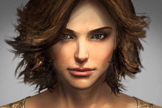 La princesse Elika dans Prince of Persia... (Gamecyte.com)