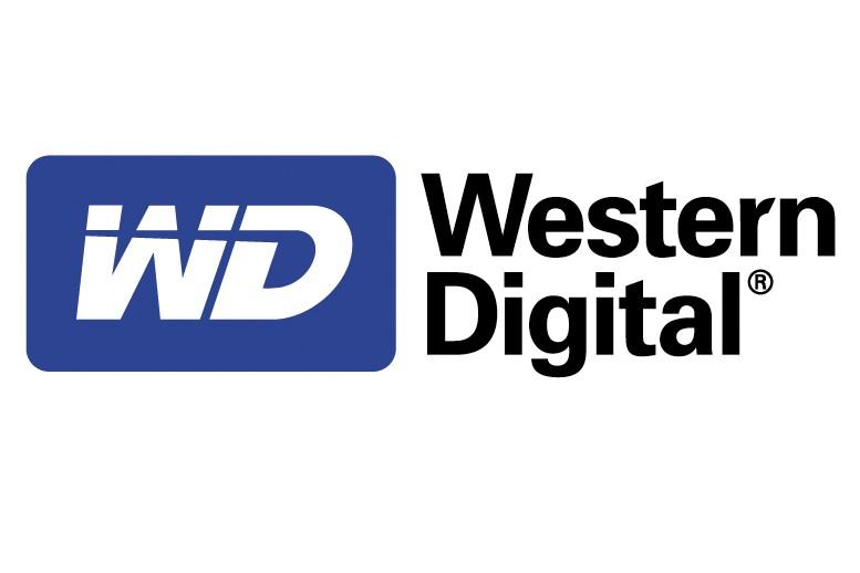 Le logo de Western Digital...