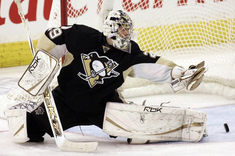 Marc-André Fleury s'est blessé à l'aine le 15... (Photo: Reuters)