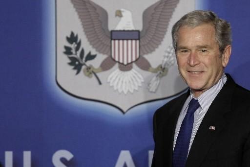 Le président américain sortant George W. Bush s'est dit... (Photo: AP)
