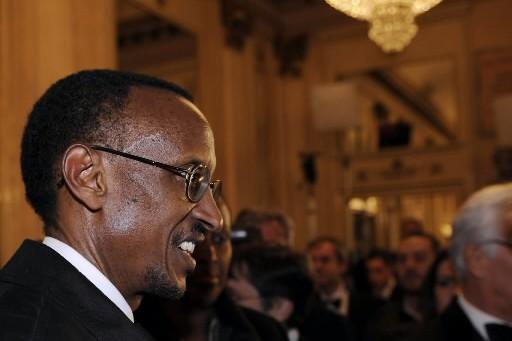 Paul Kagame... (Photo: AFP)