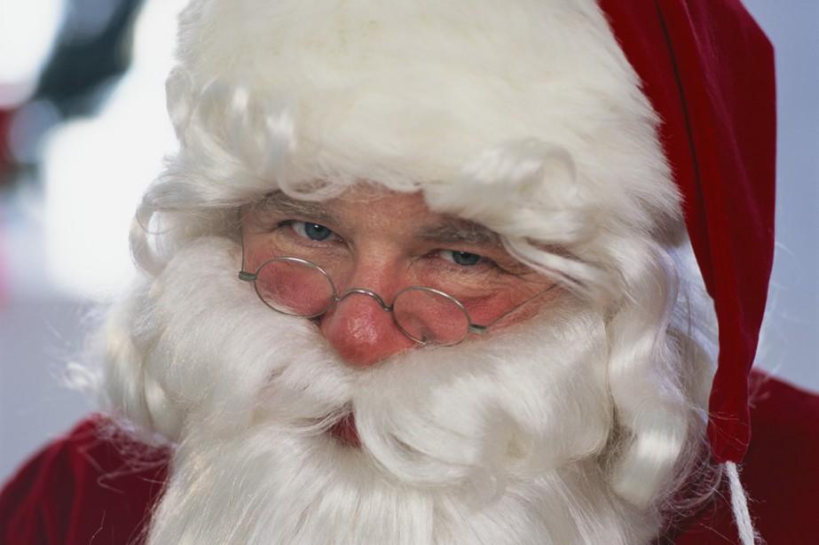 Le père Noël de Haddon Dundblom, créé par... (Archives La Presse)