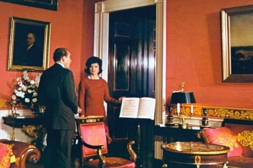 Jackie Kennedy à la Maison-Blanche... (Photo: AP)