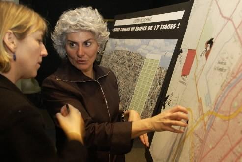 Chantal  Deschamps... (Photo: Alain Roberge, La Presse)