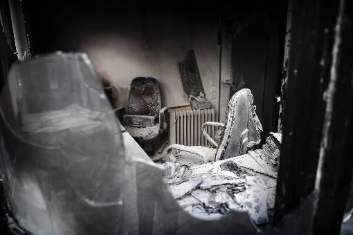 Une vue de l'intérieur de l'Institut Français.... (Photo: AFP)