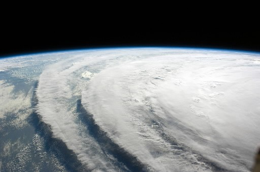 L'ouragan Ike... (Photo: AFP)