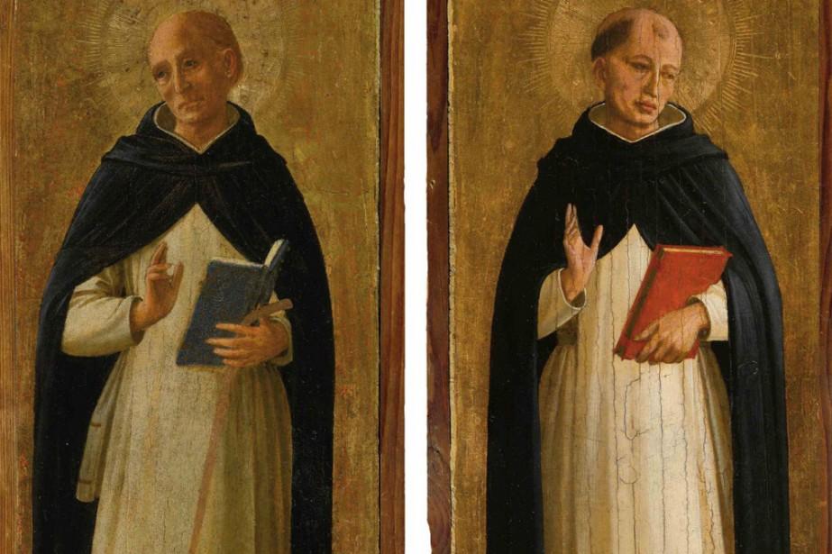 Deux tableaux du peintre italien du Quattrocento Fra Angelico,... (Photo: AFP)