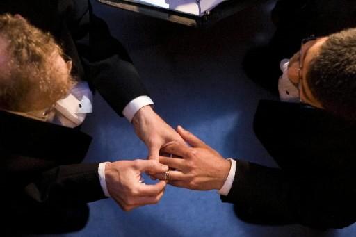 Des parlementaires américains opposés à une loi fédérale de 1996... (Photo: AP)