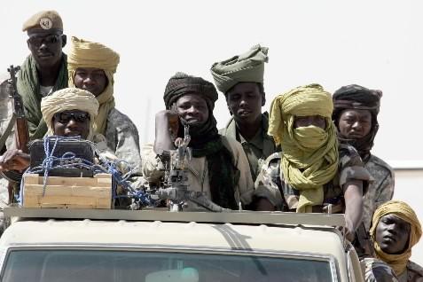 Les soldats tchadiens ont saisi plus d'une centaine... (Photo: AFP)